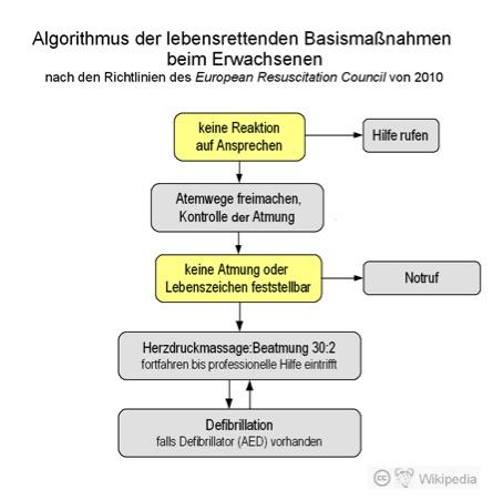 notfall algorithmus bild - Im Notfall 112